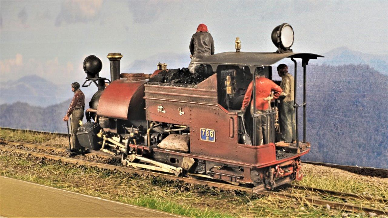 Heljan 009 MW 2-6-2 Sound Install - NG Trains