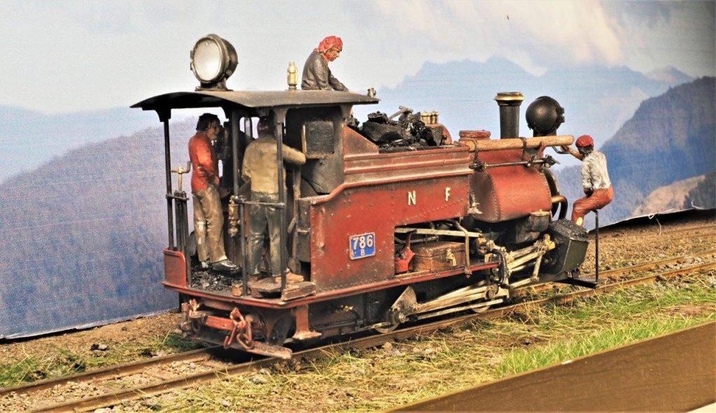 Minerva Models Peckett E Class EDM sound install - NG Trains